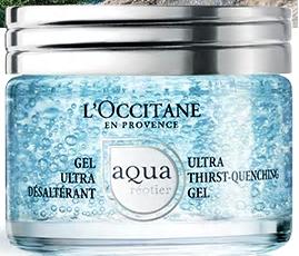 Gel Ultra Désaltérant Aqua Réotier 50 ml, www. loccitane.com